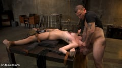 Megan Winters - Redheaded Girl Next Store Megan Winters Fucked in Brutal Rope Bondage! | Picture (9)