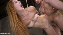 Megan Winters - Redheaded Girl Next Store Megan Winters Fucked in Brutal Rope Bondage! | Picture (15)