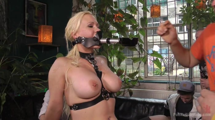 Mona Wales in Busty Blonde Piece of Filth Begs to be T ...