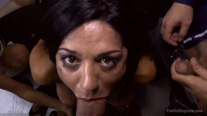 Mona Wales in Cum Dumpster Loves Being Passed Around a ...