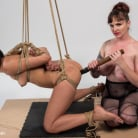 Mz Berlin in 'Mz. Berlin Clamps, Whips, and Double Stuffs Newbie Vivi Marie'
