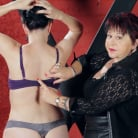 Nerine Mechanique in 'Sensual Flogging 101 - with Cleo Dubois'