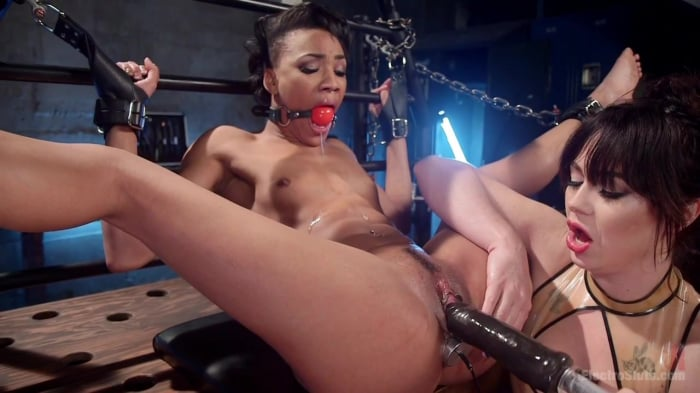 Nikki Darling in Electro Babes: Playful lezdom fisting ...