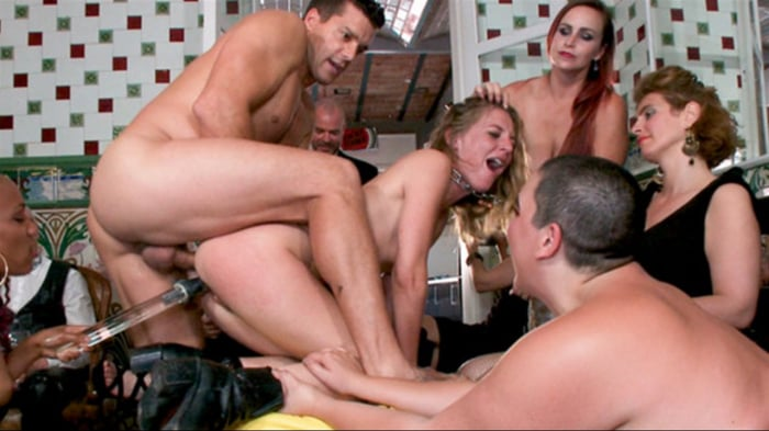 Nikki Darling in Fancy Party Interrupted To Tame The F ...