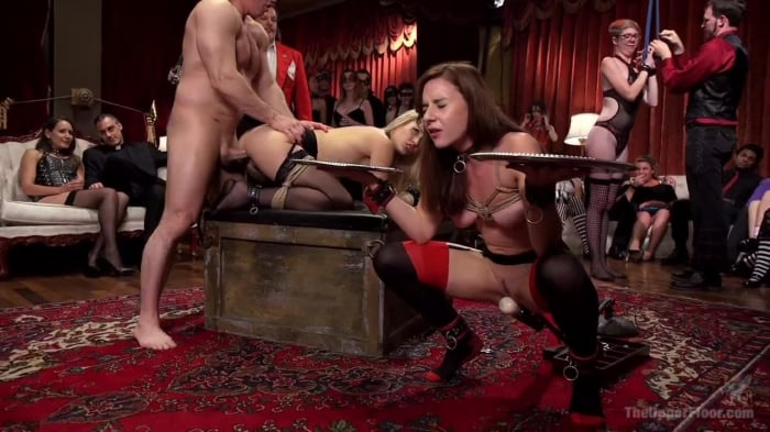 Penny Pax in Slutty Slave Anal Orgy