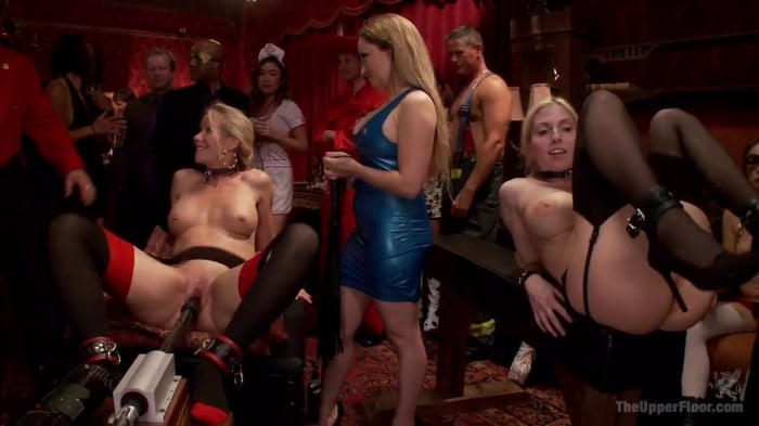 Penny Pax in Upper Floor Halloween Anal Orgy Part One