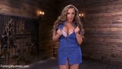 Richelle Ryan - Bodacious Curvy Babe is Bound and Fucked with Machines | Picture (2)