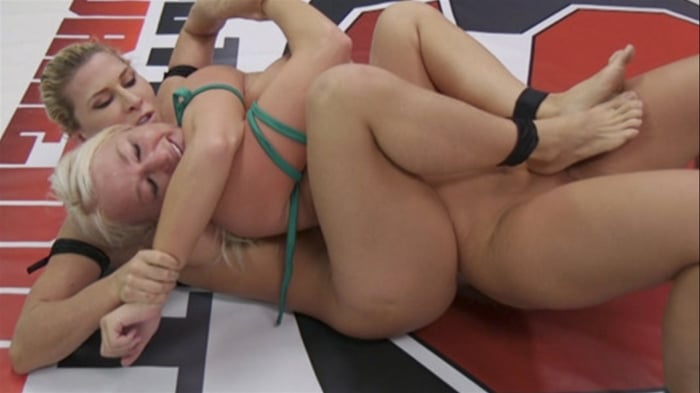 Rizzo Ford in Beautiful, Powerful Blonde Wrestler is D ...