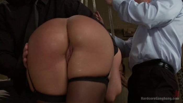 Savannah Fox in Sex Submissive Auctioned off to the Hi ...