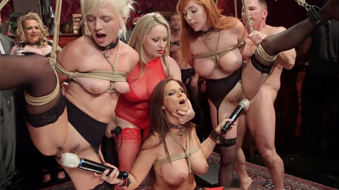 Syren de Mer in Fantastically Fevered Folsom Orgy
