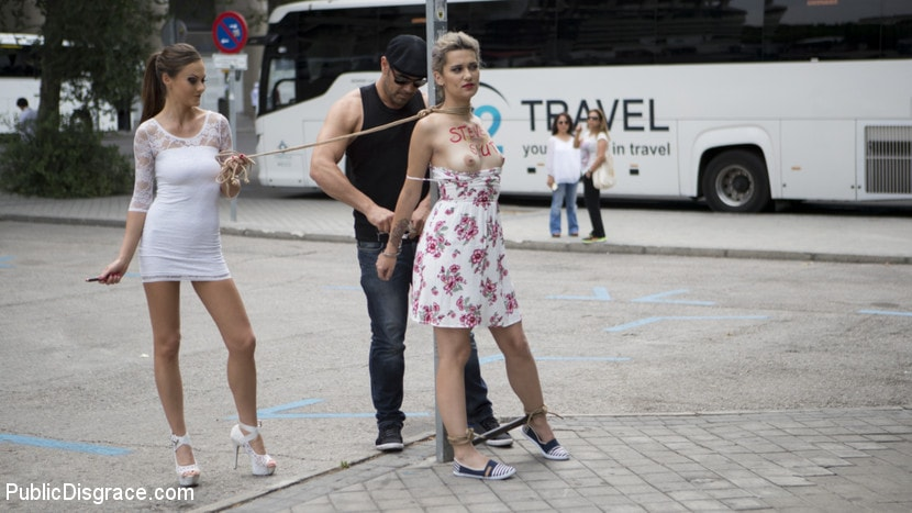 Tina Kay - Attention Whore Yunno X Humilated, Punished, and Gang Fucked in Public | Picture (1)
