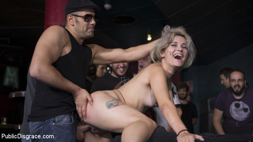 Tina Kay - Attention Whore Yunno X Humilated, Punished, and Gang Fucked in Public | Picture (15)
