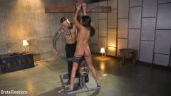 Vienna Black - Petite Anal Whore Vienna Black Abused and Butt Fucked in Rope Bondage | Picture (5)