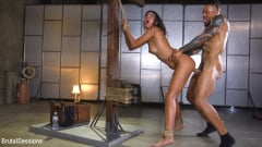 Vienna Black - Petite Anal Whore Vienna Black Abused and Butt Fucked in Rope Bondage | Picture (9)