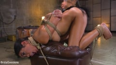 Vienna Black - Petite Anal Whore Vienna Black Abused and Butt Fucked in Rope Bondage | Picture (14)