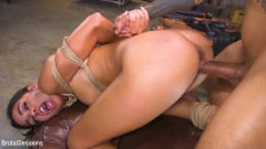 Vienna Black - Petite Anal Whore Vienna Black Abused and Butt Fucked in Rope Bondage | Picture (19)