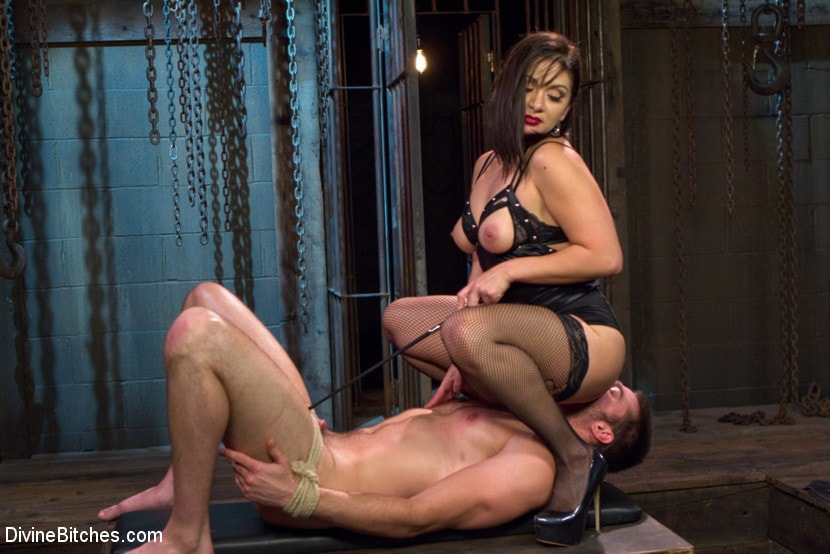 Sexy sex slave domination anal ass