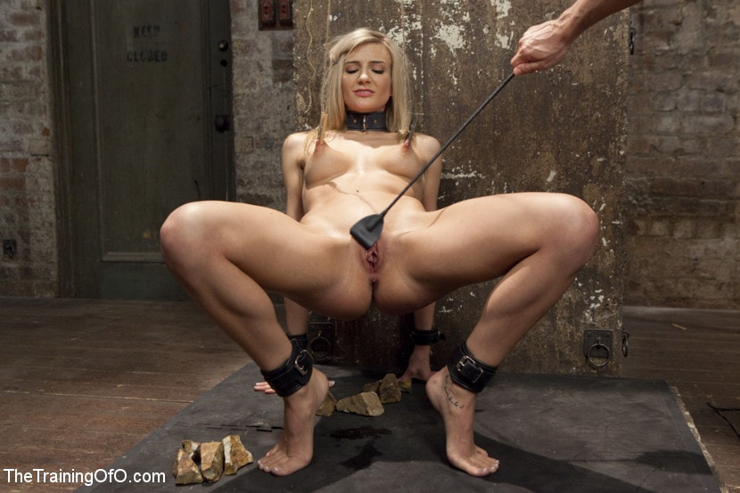 Pony girl slaves trained to serve sadistic masters