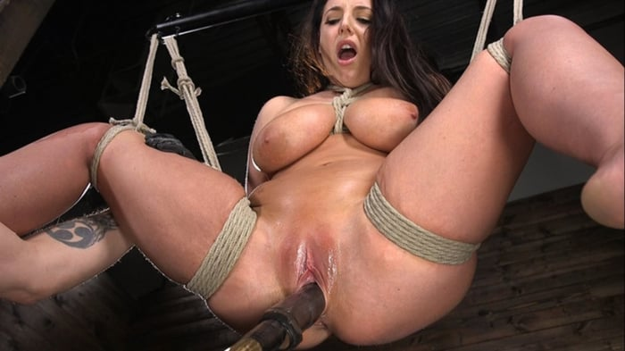 Angela White in Angela White's First Time in Brutal Bo ...