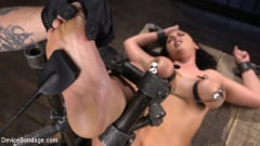 Angela White - Angela White Begs to Suffer For Her Master in Metal Bondage | Picture (7)