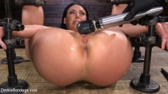 Angela White - Angela White Begs to Suffer For Her Master in Metal Bondage | Picture (13)
