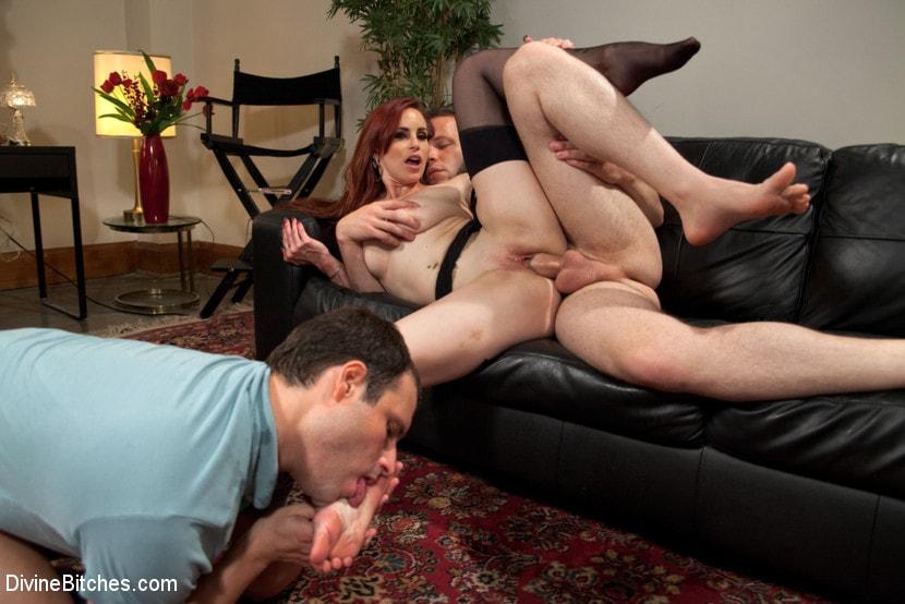 Wife Toes Cum