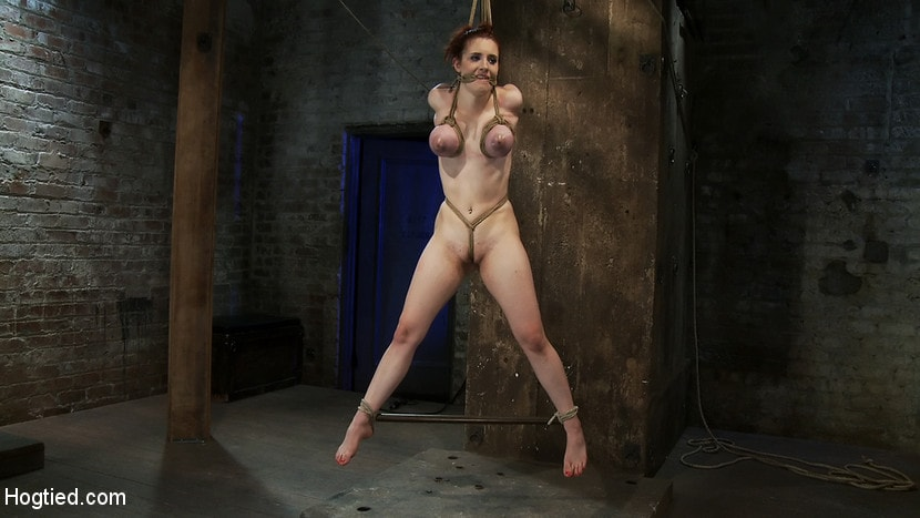 Tits Tied And Girl Suspended