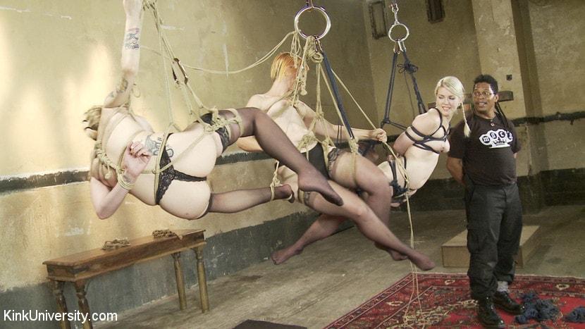 Suspension bondage porn pics