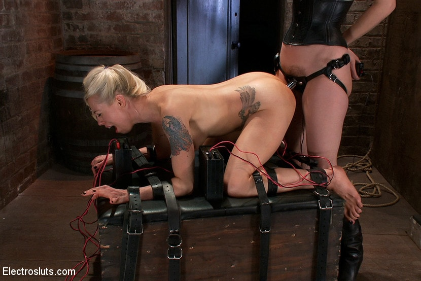 Electro Torture Lesbian High Quality Porn Photo