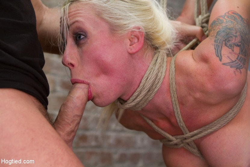 Lorelei Lee Has Her Face Fucked Like A Fist Of An Angry God, While Her Ass Is De