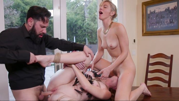 Mona Wales in Corporate Anal Whore Sells Out Her Littl ...