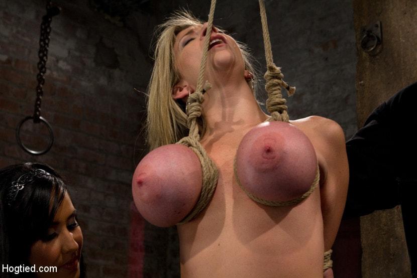 Breast suspension tit torture free porn images